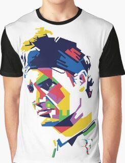 Roger Federer art Graphic T-Shirt