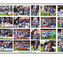 Everton Ladies ~ FA Women's Cup Winners 2010 by footypix