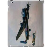 Two Icons - Lancaster and Spitfire iPad Case/Skin