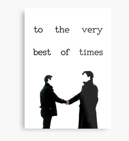 The Very Best Of Times (BBC Sherlock) Metal Print