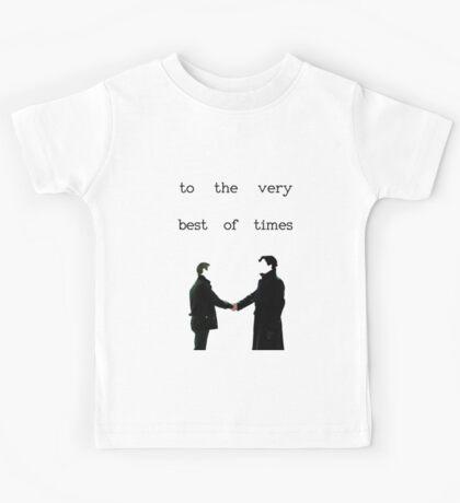 The Very Best Of Times (BBC Sherlock) Kids Tee