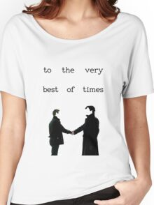 The Very Best Of Times (BBC Sherlock) Women's Relaxed Fit T-Shirt
