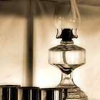 Oil Lamp In Tent by SuddenJim