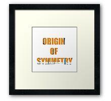 origin Framed Print