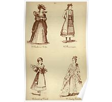 Fancy dresses described or What to wear at fancy balls by Ardern Holt 254 Ruben's Wife Russian Serving Maid Lady Teazle Poster