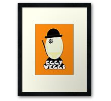 Clockwork Orange Eggy weggs Framed Print
