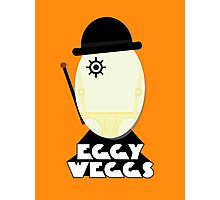 Clockwork Orange Eggy weggs Photographic Print