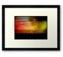 Milwaukee Eve © Framed Print