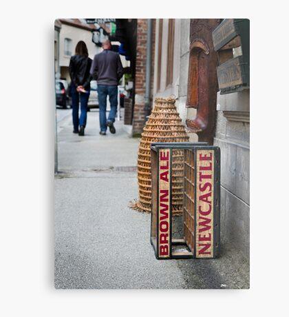 Newcastle Brown Ale Crate Metal Print