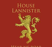Lannister iPhone Case by alexandramarieg