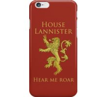 Lannister iPhone Case iPhone Case/Skin