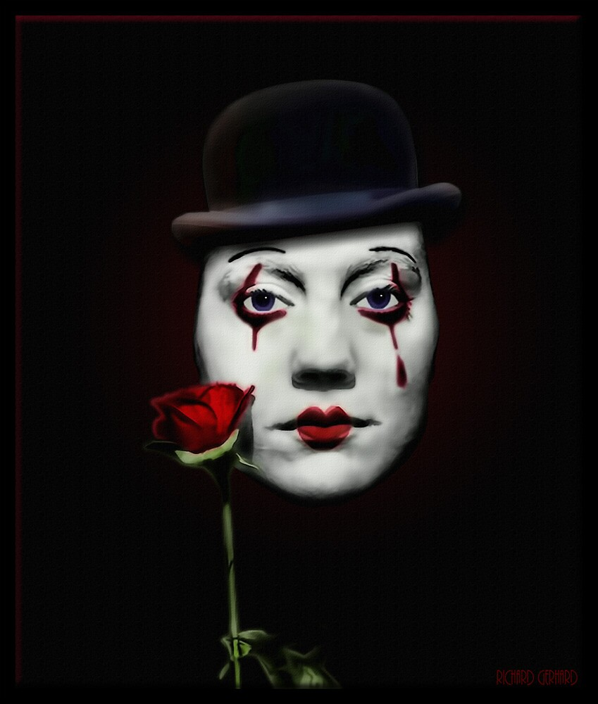 The Mime by Richard  Gerhard