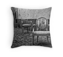 Vintage Chairs Throw Pillow