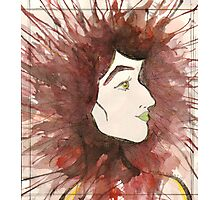 Profile Woman Photographic Print