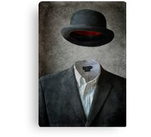 Invisable Man Canvas Print