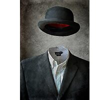 Invisable Man Photographic Print