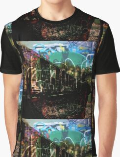 Tracks and Trains Graphic T-Shirt