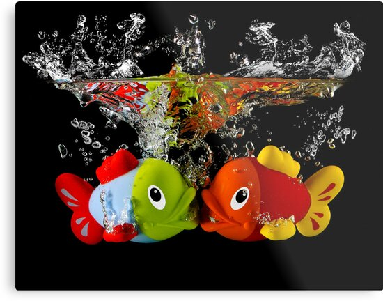 Two Toy Fish Kissing by Patricia Jacobs CPAGB LRPS BPE4