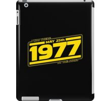 There at the Start iPad Case/Skin