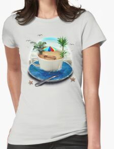 Cup of dreaming Womens Fitted T-Shirt