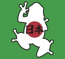 Japan Kanji Frog Kids Tee