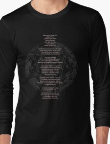 Supernatural Key of Solomon  Long Sleeve T-Shirt