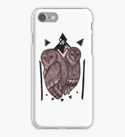 Pattern Owls iPhone Case/Skin