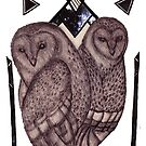 Pattern Owls by samclaire