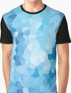 Blue Geometric Nautical Modern Pattern Abstract Art - Ocean Graphic T-Shirt