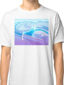 Abstract Skier  Classic T-Shirt