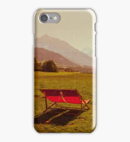 Vintage Holiday iPhone Case/Skin