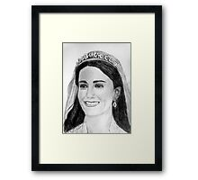 Beautiful Kate Framed Print