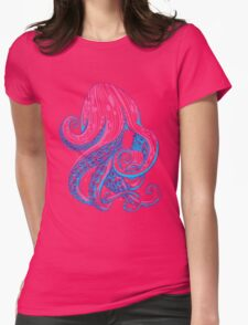 Curls Womens Fitted T-Shirt