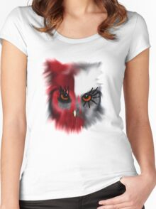 Red Owl Women's Fitted Scoop T-Shirt