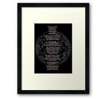 Supernatural Key of Solomon  Framed Print