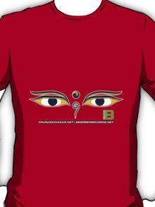 Crunk Eco Wear | Be Green Records Merch | Buddha Eyes 33 T-Shirt