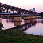 Grafton Bridge at Sunset by SunshineKaren