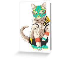 El Gato Asesino Greeting Card