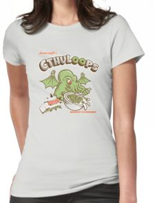 Cthuloops (Original)  Womens Fitted T-Shirt