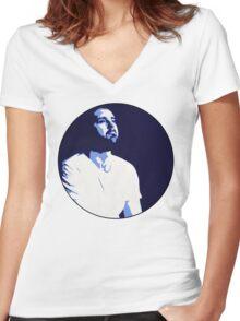 Blue Bear Women's Fitted V-Neck T-Shirt