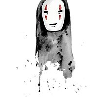 No-Face Painting - Studio Ghibli by Andrew Choo