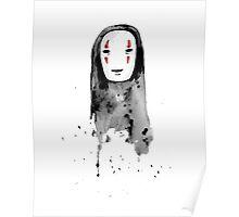 No-Face Painting - Studio Ghibli Poster