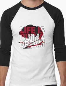 Life is but a Dream  Men's Baseball ¾ T-Shirt
