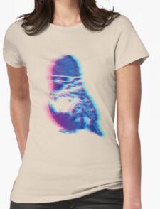 Bird Hair Day Womens Fitted T-Shirt