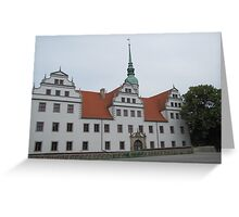 Doberlug Palace Greeting Card