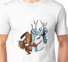 The Stag in Winter Unisex T-Shirt