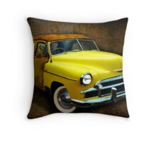 Ghost Car - 1950 Chevrolet Throw Pillow