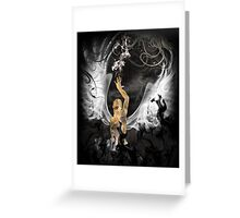 Angel Fire Greeting Card