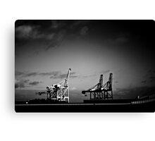 steel giants Canvas Print