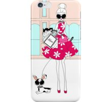Shopping day iPhone Case/Skin